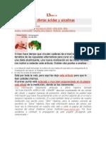 Acido y Alcalino
