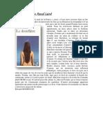 La dentellière de Pascal Lainé