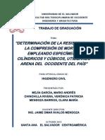 Tesis Determinación de La Resistencia a La Compresión de Mortero Empleando Especimenes Cilíndrico