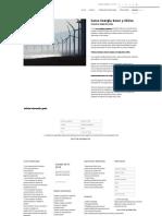 Curso Energía Solar y Eólica - Formación Académica