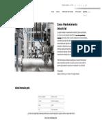 Curso Mantenimiento Industrial - Formación Académica