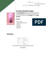 Curso Técnico Administrativo de Seguros - Formación Académica
