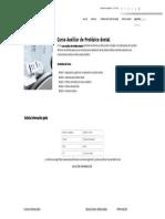 Curso Auxiliar de Protésico Dental - Formación Académica