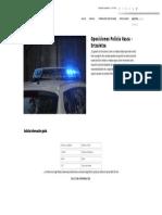 Oposiciones Policía Vasca - Ertzaintza - Formación Académica