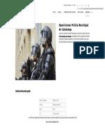Oposiciones Policía Municipal de Catalunya - Formación Académica