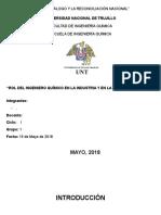 Rol Del Ing Quimicogrupo1 Informe