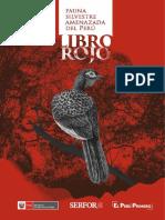 Libro-Rojo. SERFOR. 2018. Libro Rojo de la Fauna Silvestre Amenazada del Perú. Primera edición. Serfor (Servicio Nacional Forestal y de Fauna Silvestre), Lima, Perú.