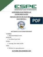 Modelos de Emprendimientos