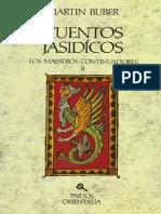 Cuentos Jasídicos - Los maestros continuadores II - Martin Buber.pdf