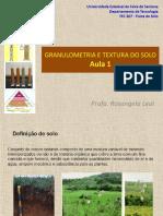 Granulometria e Textura Do Solo(Final)