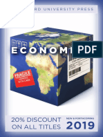 Economics Catalog 2019 (Stanford University Press)