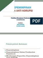 Kepemimpinan Dan Anti Korupsi