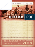 History Catalog 2019 (Stanford University Press)
