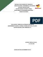 Evaluacion y Diseno Del Sistema Gestion Mantenimiento Venezuela