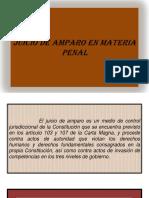 15a Clase de Derecho Procesal Penal (Juicio de Amparo en Materia Penal).