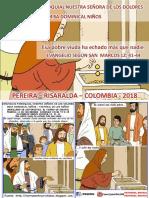 HOJITA EVANGELIO NIÑOS DOMINGO XXXII TO B 18 SERIE