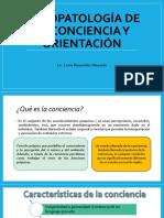 Clase 3- Psicopatología de La Orientación y Conciencia
