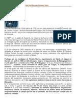 Biografía Del General de División José Dolores Estrada Vado