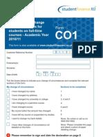 Sfni Co1 Form Online