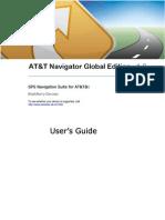 AT&T Navigator Global Edition v1.6 User's Guide for BlackBerry Phones