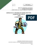 Pelaksanaan prosedur keselamatan kesehatan kerja & lingkungan.pdf