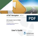 AT&T Navigator v2.0 User's Guide for BlackBerry Phones