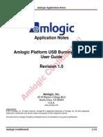 Amlogic Platform USB Burning Tool V2 User Guide V1.0