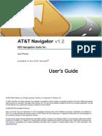 AT&T Navigator v1.2 User's Guide for Java Phones
