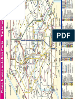 Mapa Lineas Autobus Paris