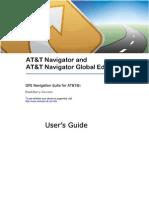 AT&T Navigator v1.8 User's Guide for Blackberry