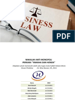 Ppt Hukum Bisnis MONOPOLI DAGANG