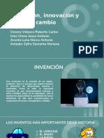 Invención, Innovación y Cambio
