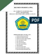 Cover Dokumen Peserta Ppg