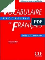 Vocabulaire Progressif Du Francais Avec 250 Exercices Pdf