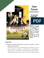 Cine Forum - El Club Del Emperador