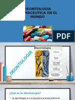 Deontologia Farmaceutica en El Mundo