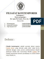 FILSAFAT KONTEMPORER