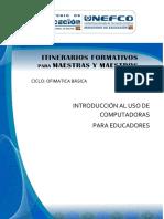 OFIMATICA cursos de UNEFCO