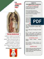 Cantos de Para Paraliturgia Guadalupe