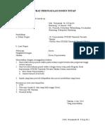 Surat Pernyataan Dosen Tetap-1