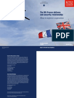 The UK-France defence and segurity relationship