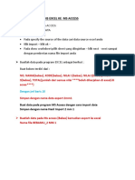 Import Data Dari Ms Access Ke Msword