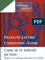 7502274 Francois Lelord Christ Op He Andre Cum Sa Te Iubesti Pe Tine