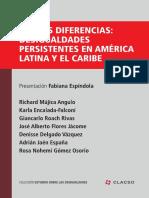 Nuevas desigualdades persistentes en America Latina y el Caribe