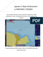 C-map Update procedure fmd 3200/3300