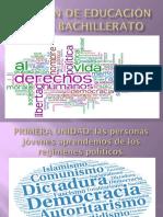EDUCACIÓN CIVICA BACHILLERATO.