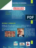 Nintendo 2.0 ADMINISTRACIÓN Y ORGANIZACIÓN