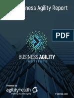 BAI Business Agility Report 2018