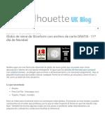 Silhouette UK_ Globo de Nieve de Sliceform Con Archivo de Corte GRATIS - 11º Día de Navidad