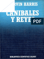 Marvin Harris - Caníbales y Reyes